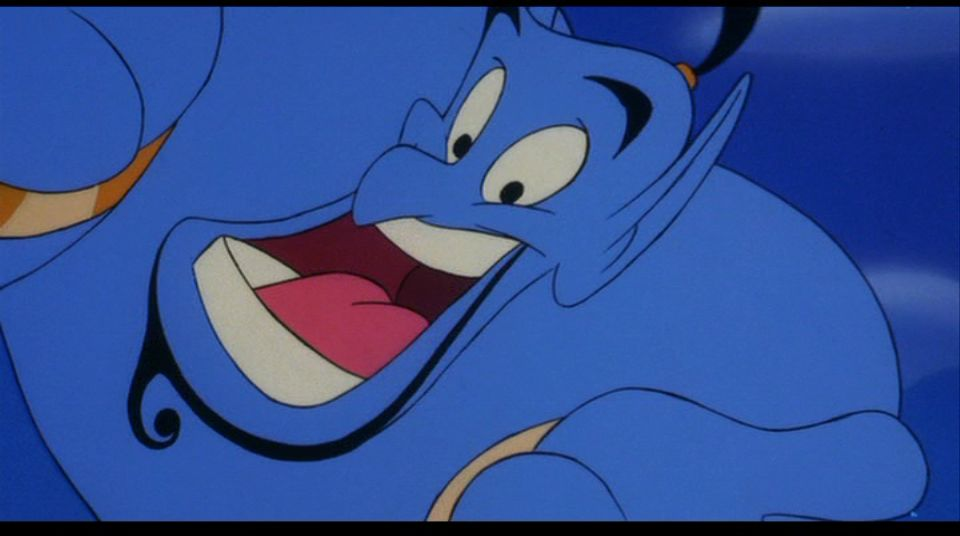 image disney genie aladdin personnage character