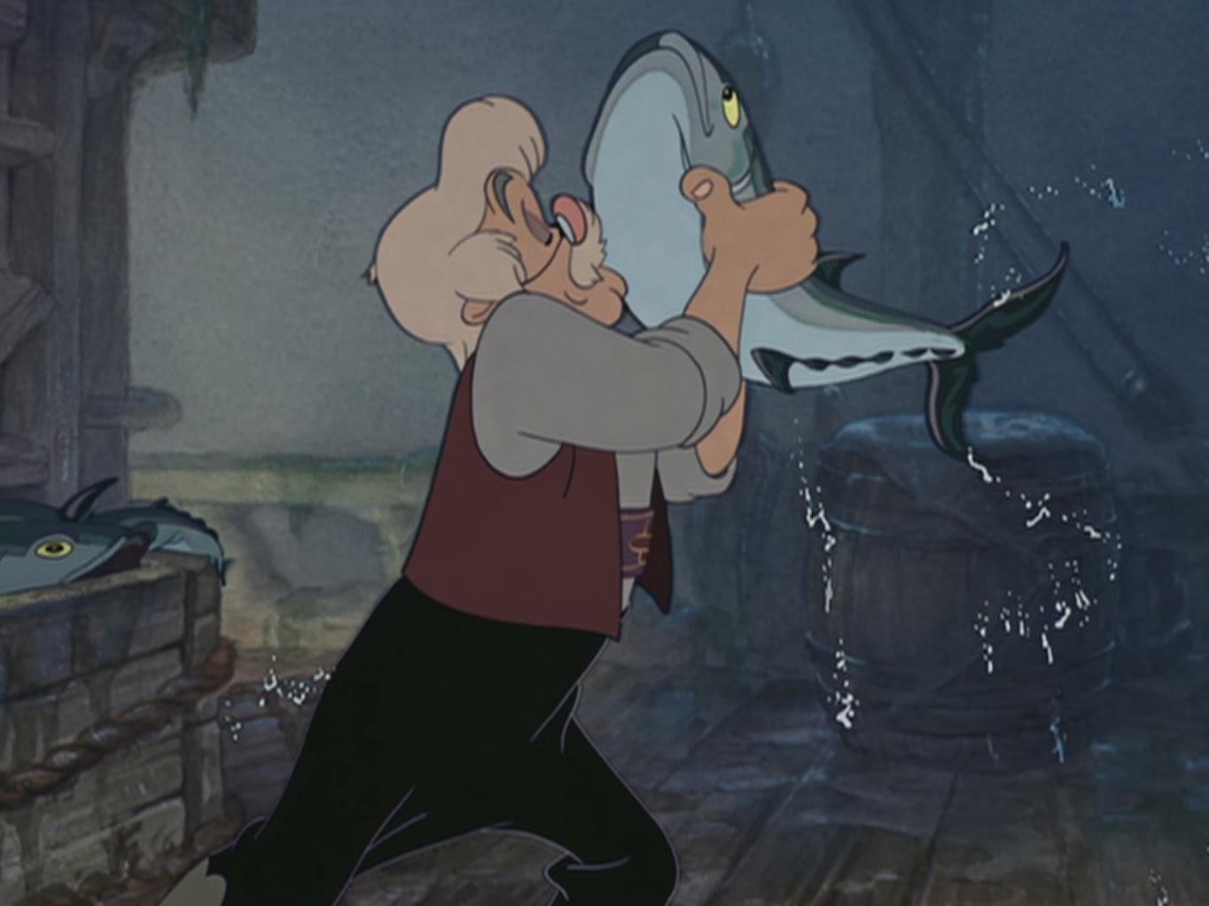 Geppetto personnage dans pinocchio disney planet - Chat dans pinocchio ...