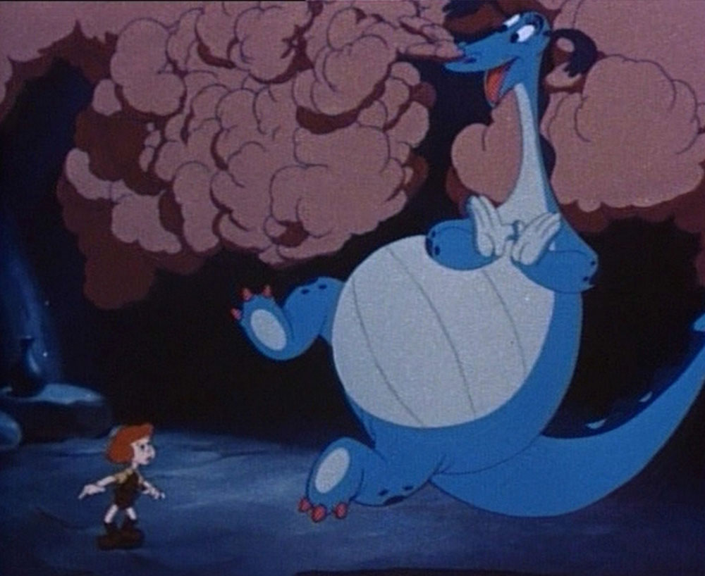image dragon récalcitrant reluctant disney