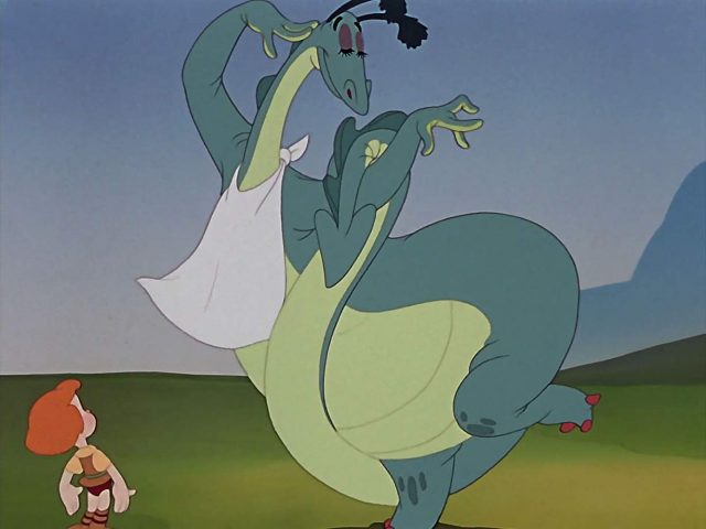 Image dragon récalcitrant Disney reluctant