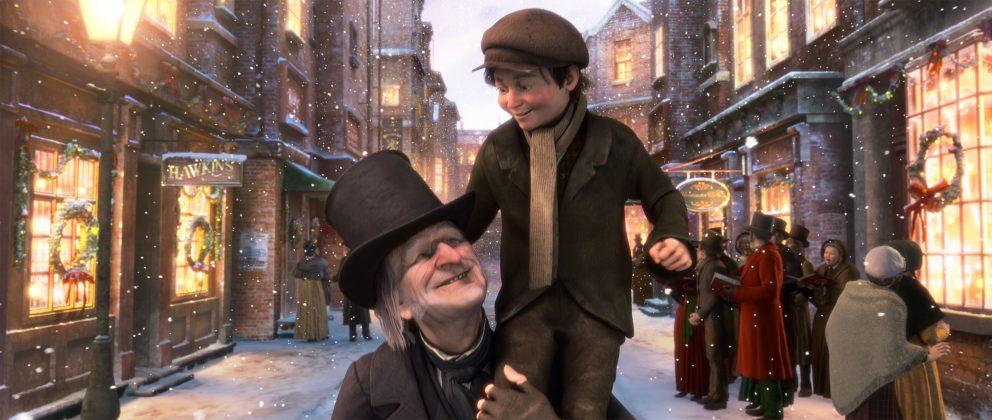 Image drôle noel scrooge christmas carol disney