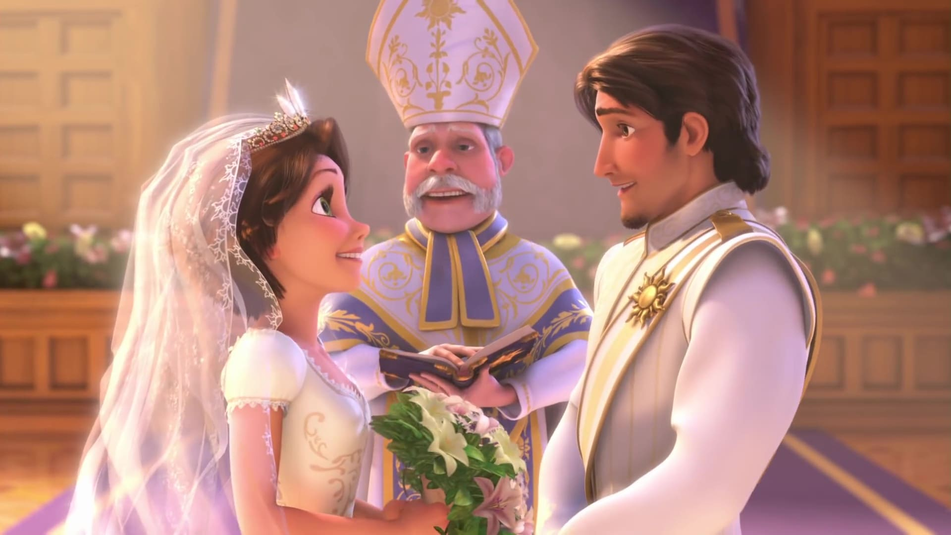 image mariage raiponce tangled ever after disney