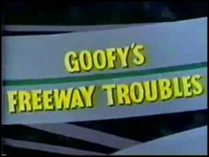 Disney goofy freeway trouble