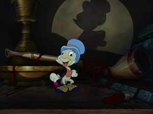 jiminy cricket disney personnage character pinocchio
