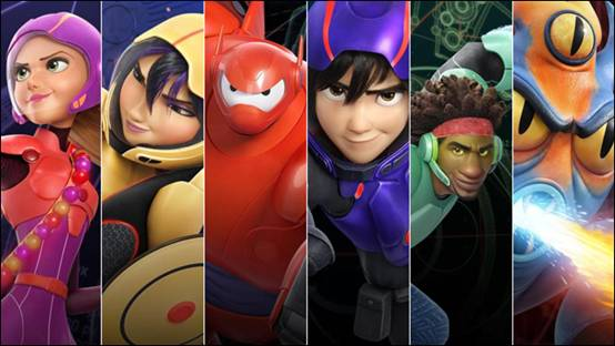 Disney nouveaux-heros