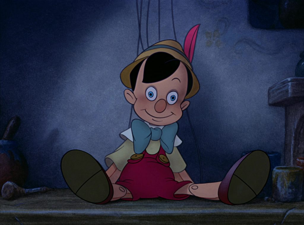 disney personnage character pinocchio