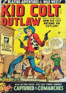 Disney marvel-Kid-cold-outlaw