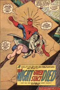 Disney marvel-The-Night-Gwen-Stacy-Died