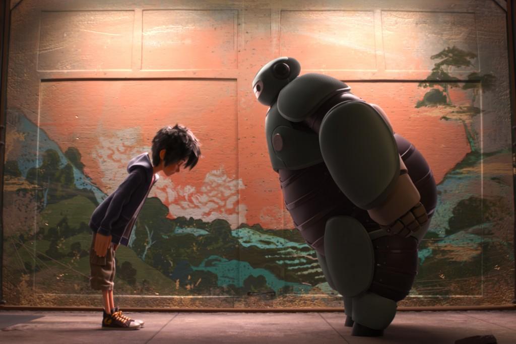 Illustration Les nouveaux héros Disney