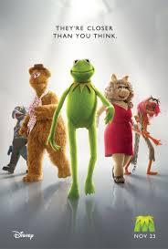 affiche les muppets
