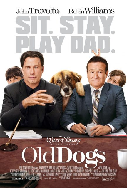 Affiche Poster 2 font père old dogs papy sitter disney