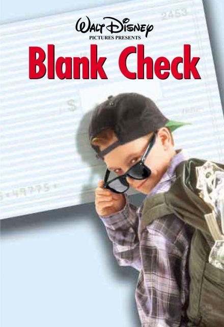 Affiche Poster apprenti millionnaire blank check disney