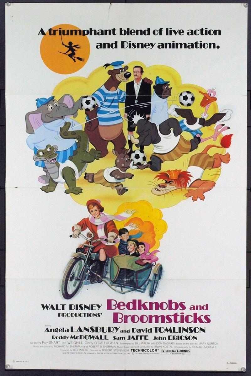 Affiche L'apprentie sorcière Disney Poster Bedknobs and Broomsticks