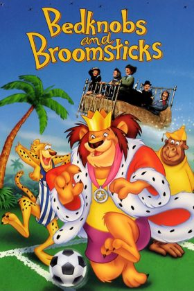 Affiche L'apprentie sorcière Disney Poster Bedknobs and Broomsticks