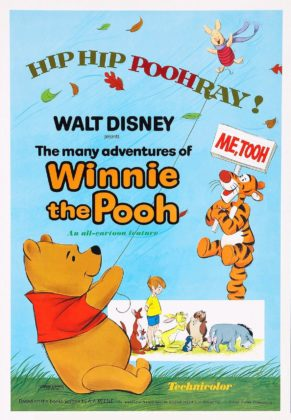 Affiche Les aventures de Winnie l'ourson Disney Poster Many Adventures Pooh