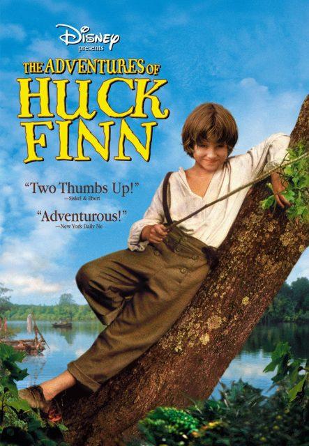 Affiche Poster adventure aventure huckelberry huck finn disney