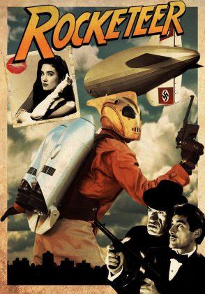 affiche poster aventures rocketeer disney