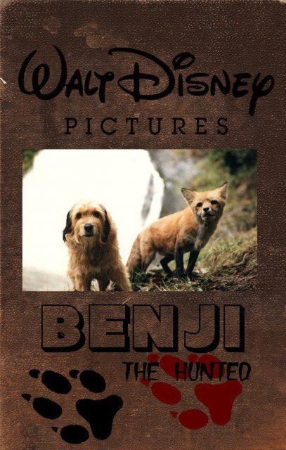 Affiche Poster benji malice hunted disney