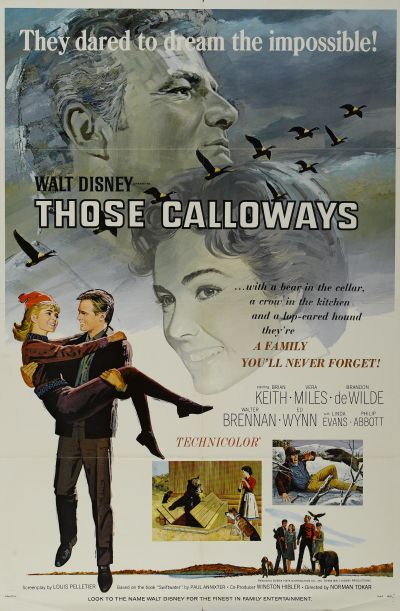 Affiche Poster calloway trappeur disney