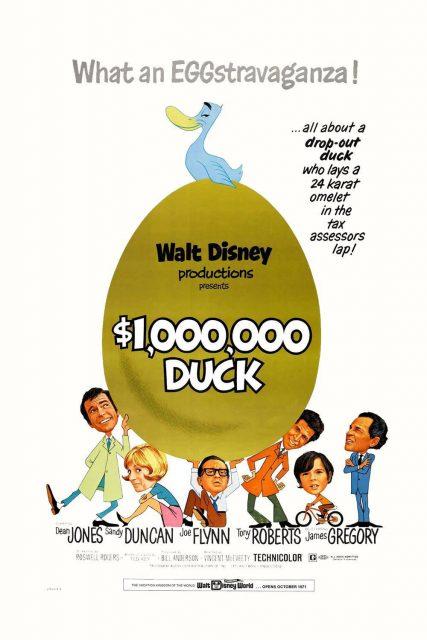 Affiche Poster cane oeufs or million dollar duck disney