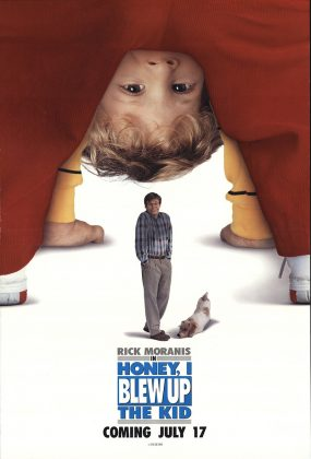 Affiche Poster chérie agrandi bébé honey blew up kid disney
