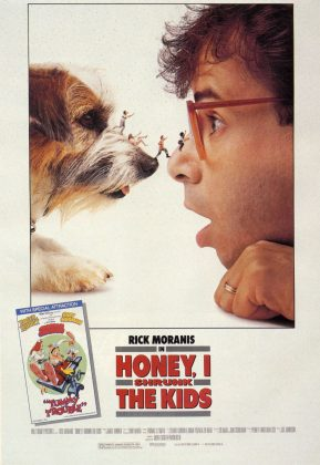 Affiche poster chérie honey rétréci gosse shrunk kids disney