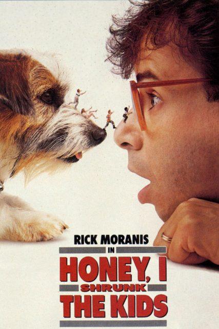 Affiche poster chérie honey rétréci gosse shrunk kids disney
