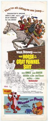 affiche poster cheval sabot or Horse Gray Flannel Suit disney