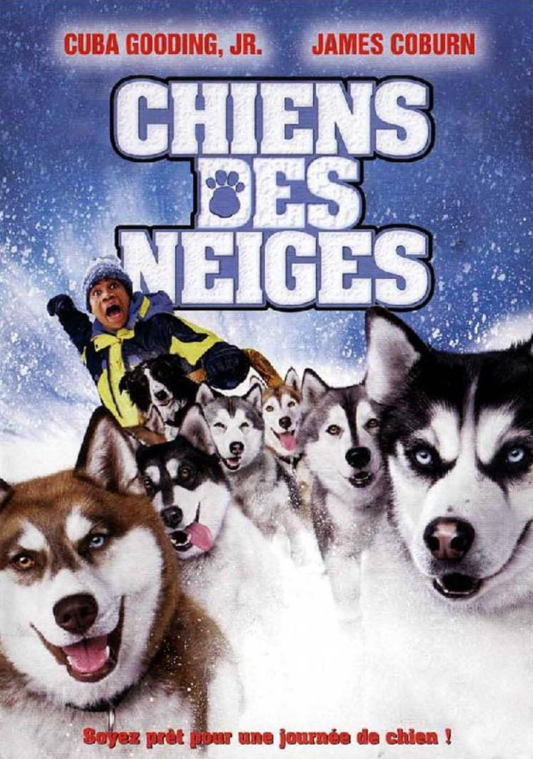 Affiche poster chiens neiges snow dogs disney