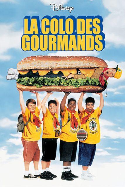 Affiche Poster colo gourmands heaveweights disney caravan