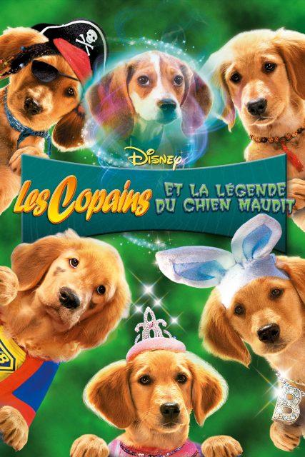 Affiche Poster Copains légende chien maudit spooky buddies disney