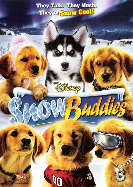 Affiche neige snow Buddies disney