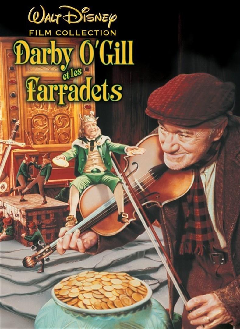 Affiche Poster Darby O'Gill farfadet little People disney