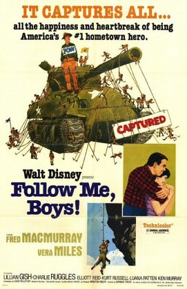 Affiche poster demain homme follow me boys disney
