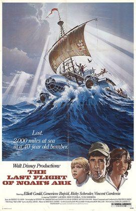 Affiche Poster dernier vol arche noé last flight ark noah