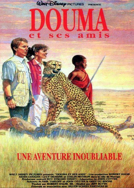 Affiche poster douma amis cheetah disney