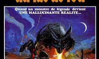 Affiche poster dragon lac feu dragonslayer disney