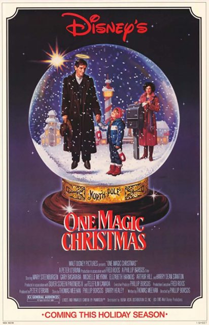 Affiche Poster drôle noel magic christmas disney