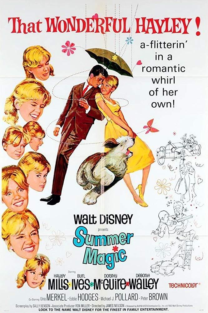 Affiche Poster été magique summer magic disney