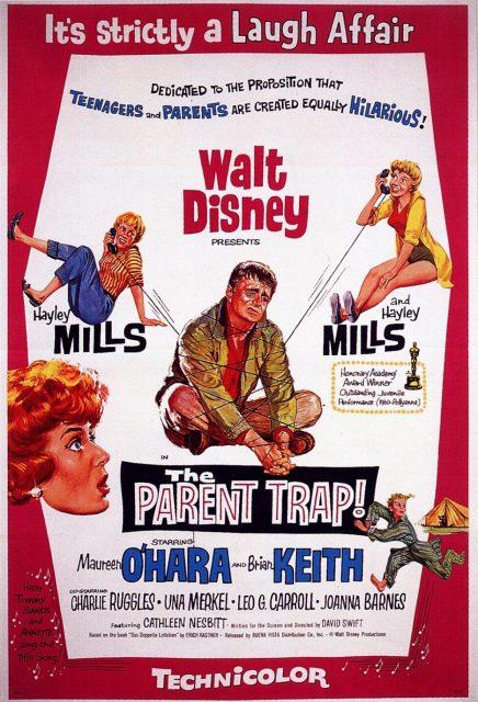 Affiche Poster fiancée papa parent trap disney