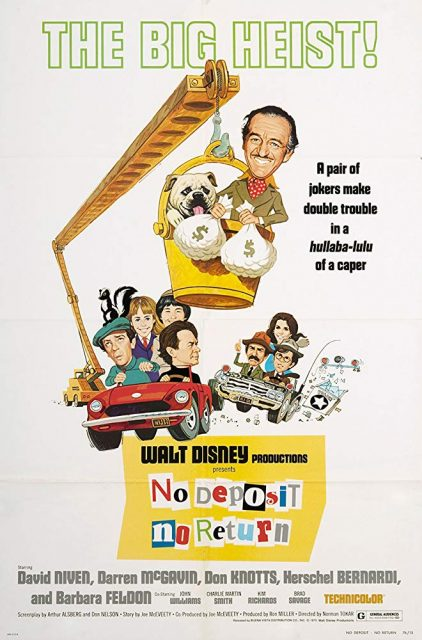 Affiche Poster folle escapade no deposit return disney