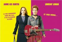 Affiche poster freaky friday peau mere disney