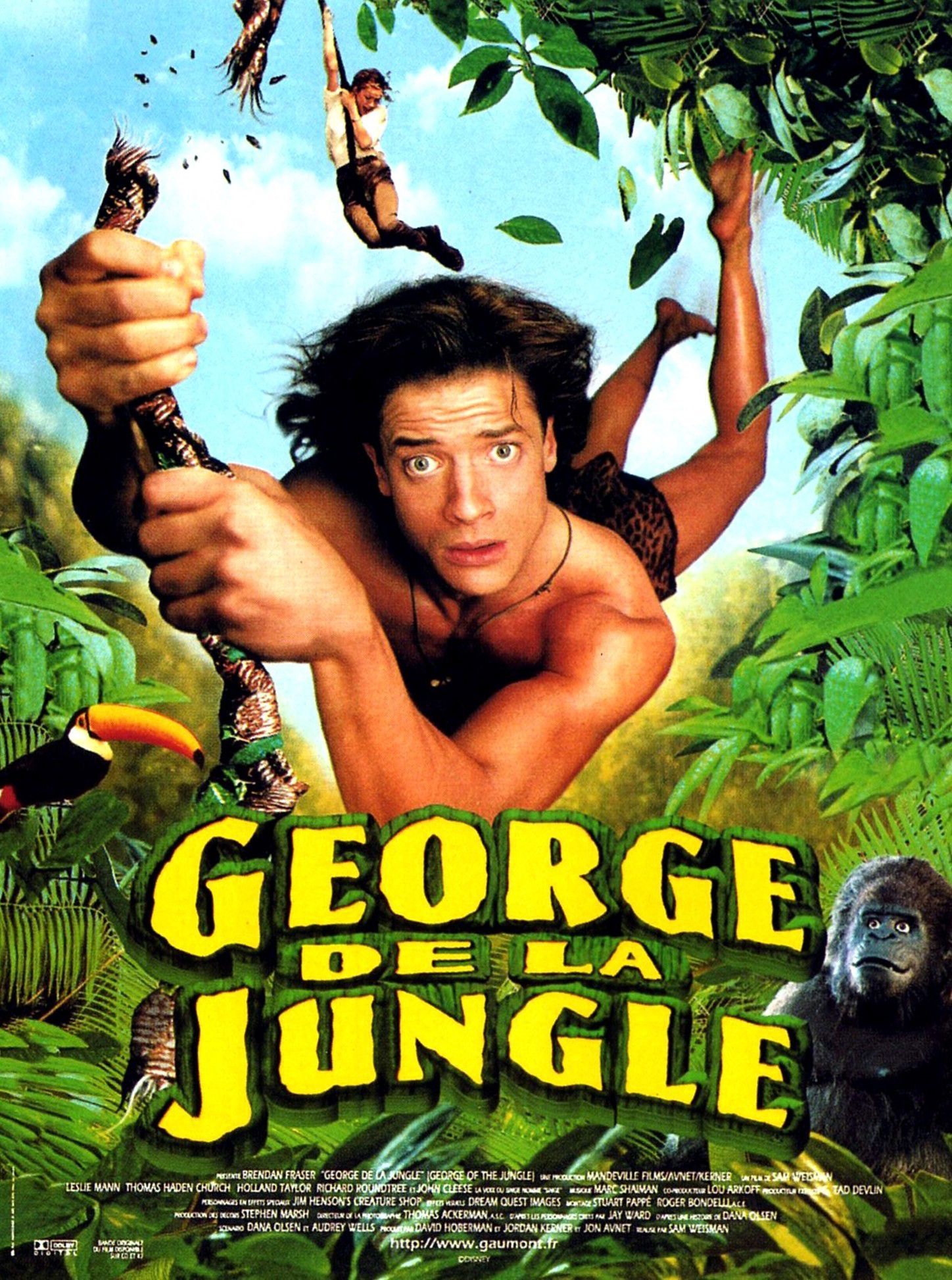 Affiche Poster george jungle disney