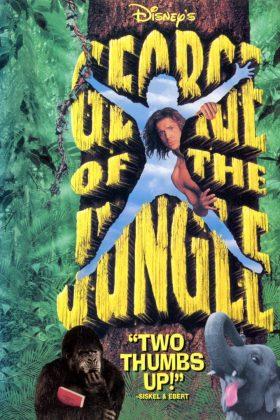 Affiche Poster george jungle disney