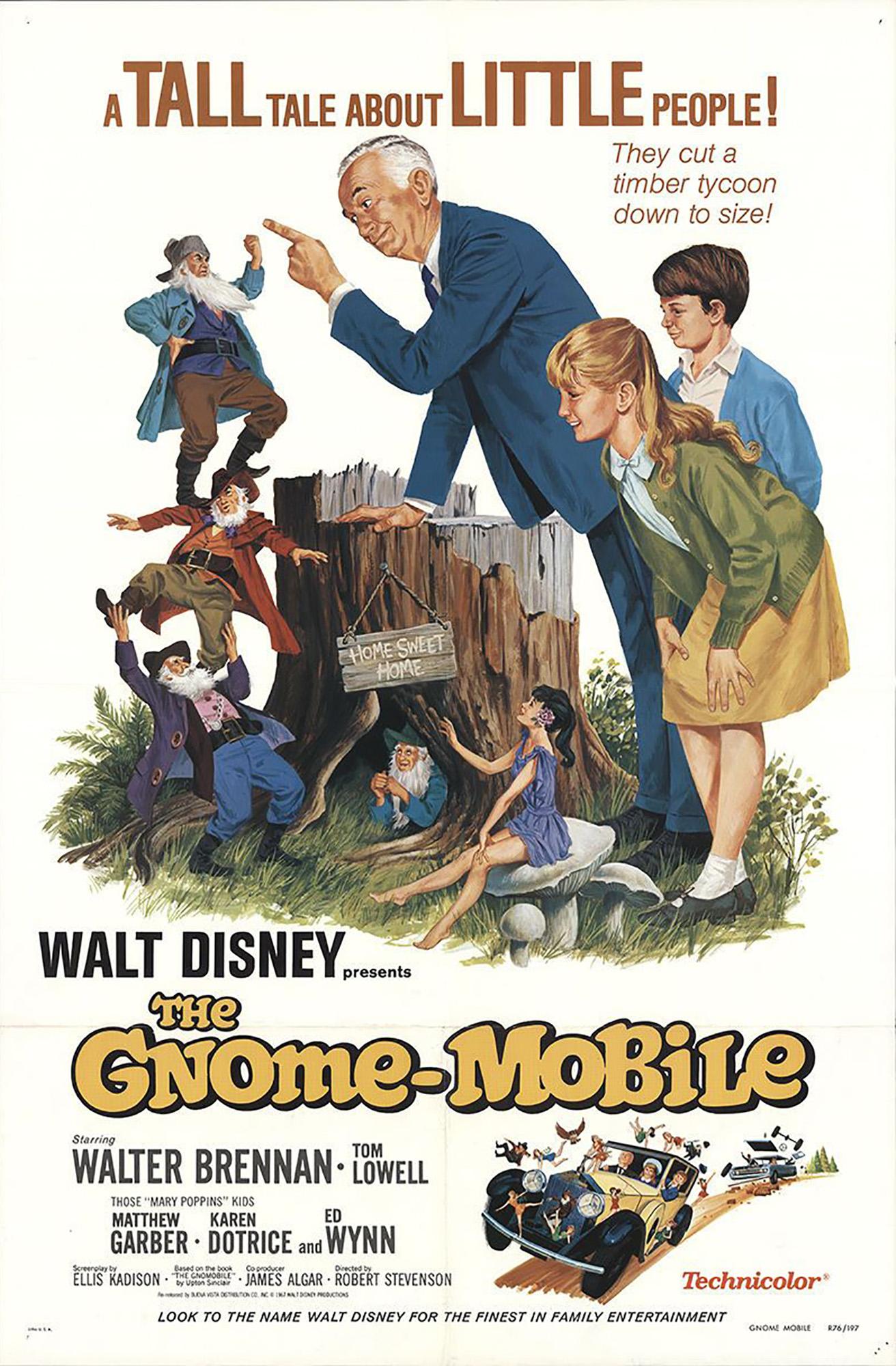 Affiche poster gnome mobile disney