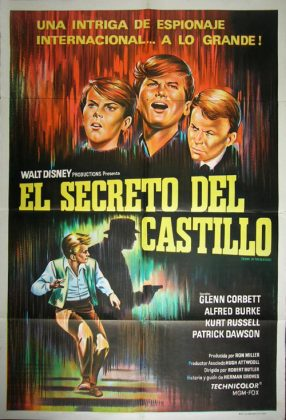 Affiche Poster guns heather secret boyne castle disney