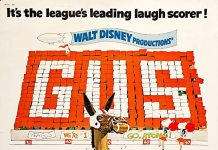 Affiche poster gus disney