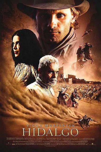 Affiche Poster hidalgo aventuriers désert disney touchstone