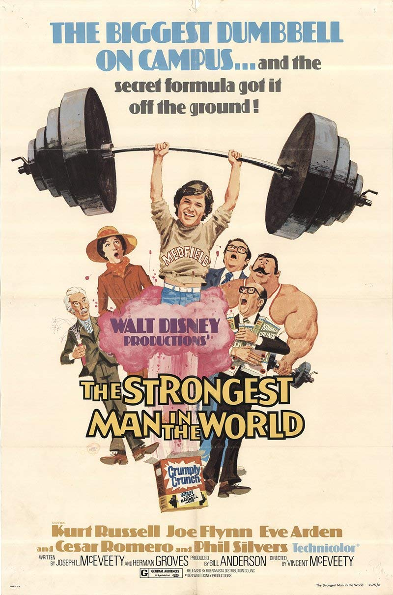 Affiche Poster homme plus fort monde Strongest Man World disney