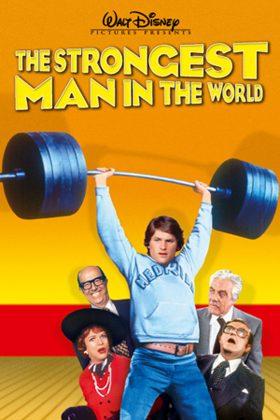 Affiche Poster homme plus fort monde Strongest Man World disney
